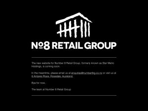 Number 8 retail group